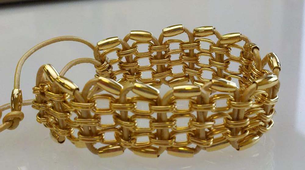 woven-chain-bracelet