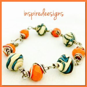 1:30pm Wire Wrapped Bracelet @ Sugarbeads